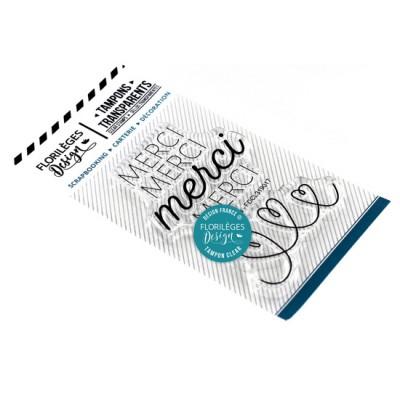 Merci de tout coeur - Clear stamps by Florilèges Design