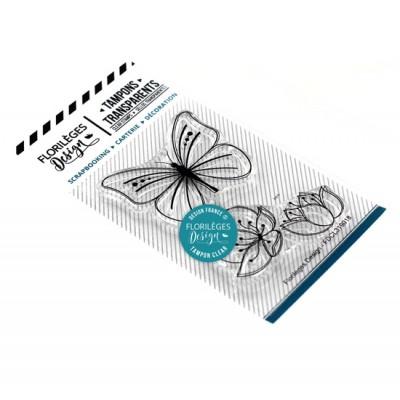 Papillons et fleurs - Clear stamps by Florilèges Design