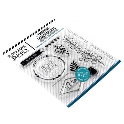 Ferme les yeux - Clear stamps by Florilèges Design