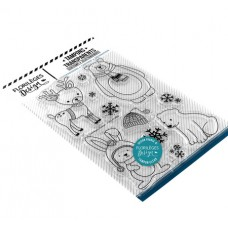 Hiver mignon (cute winter) - Clear stamps by Florilèges Design