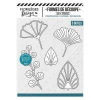 Florilèges Design Dies : Feuillages déco (art deco leaves)