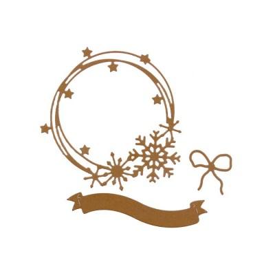 Florilèges Design Outils de découpe COURONNE D'HIVER