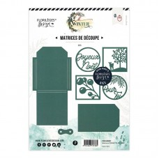 Florilèges Design Dies - Oh Winter POCHETTE D'HIVER - winter pocket
