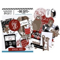 Christmas Cocooning die cuts by Florilèges Design