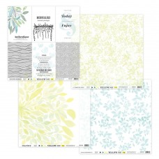 Printed vellum papers by Florilèges Design - Collection 'Yellow'