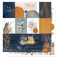 Collection of Papers by Florilèges Design - Or Saison - Autumn