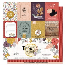 Collection of scrapbooking papers by Florilèges Design - Terre des sens
