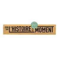 L'histoire de ce moment - Wood Mounted Stamp by Florilèges Design