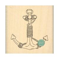 Jeter l'ancre -  Wood Mounted Florilèges Design Anchor Stamp