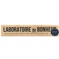 Laboratoire du bonheur -  Wood Mounted Florilèges Design Stamp