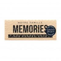 Nos rendez-vous -  Wood Mounted Florilèges Design Stamp