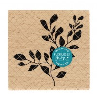 Feuillage Parfait -  Wood Mounted Florilèges Design Stamp