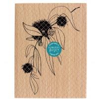 Extrait d'automne - Wood Mounted Florilèges Design Stamp