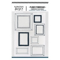 Florileges Design Embossing Folder - Mur de cadres