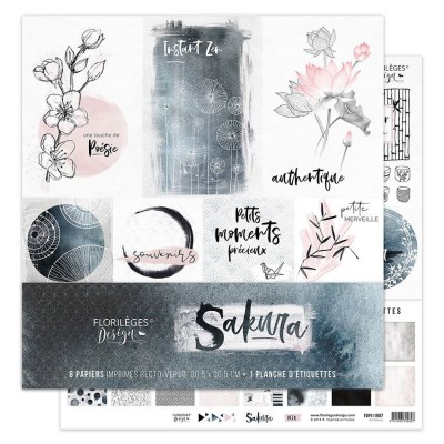 Paper Collection by Florilèges Design - Sakura