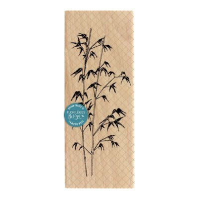 Bambou (bamboo) - Wood Mounted Florilèges Design Stamp