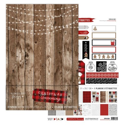 Florilèges Design A4 kit collection - Christmas Cocooning