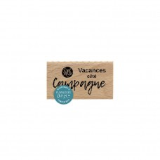 CÔTÉ CAMPAGNE - Wood Mounted Florilèges Design Stamp