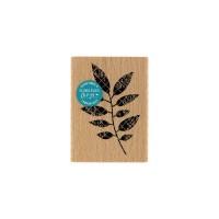 FEUILLAGE NOIR -  Wood Mounted Florilège Stamp