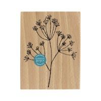GRANDE TIGE-  Wood Mounted Florilèges Design Stamp