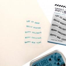 Petits Mots Bannières 2 in English - Stamps by Florilèges Design