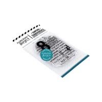 TEXTE DE PASCAL- Clear stamps by Florilèges Design