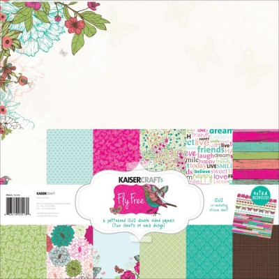 Fly Free Collection 12x12 Kaisercraft