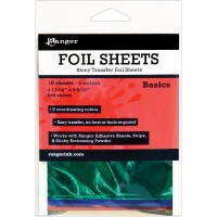 Shiny foil transfer sheets - Basics