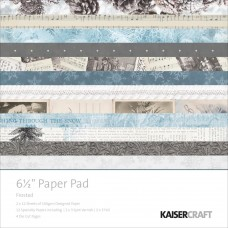 "Kaisercraft Frosted Cardstock Pad 6.5"" x 6.5"""