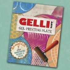 """Gelli Plate Round 8"""""""