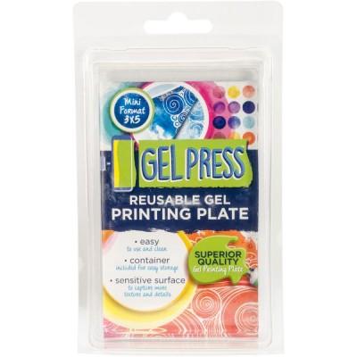 """Gel press plate - 3"""" x 5''"""