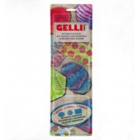 Gelli Arts Mini Printing Plates - hexagon, rectangle, oval
