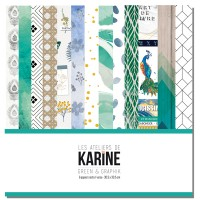 Green & Graphik collection de papiers: Ateliers de Karine