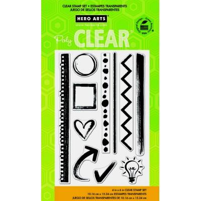 Hero Arts Notebook Essentials Stamps