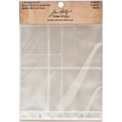 Page Pockets Assorted - Tim Holtz Idea-ology