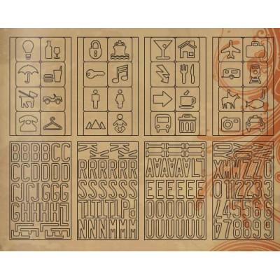 Tim Holtz idea-ology - Grungeboard Iconic