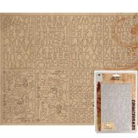 Tim Holtz idea-ology - Grungeboard Minis & alphabet