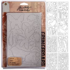 Tim Holtz idea-ology - Grungeboard Nature