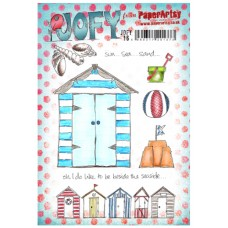 PaperArtsy stamps JOFY16 mounted on EZ foam