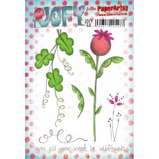 PaperArtsy stamps JOFY49 mounted on EZ foam