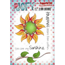 PaperArtsy stamps JOFY51 mounted on EZ foam