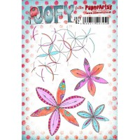 PaperArtsy stamps JOFY62 mounted on EZ foam