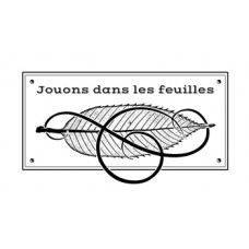Jouons dans les feuilles - tampon de Lorelaï Design