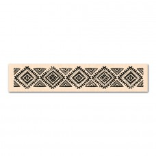 Tampon bois Frise Ethnique: collection Eté Indien