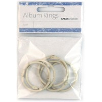KaiserCraft album rings - Stone