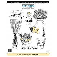 Stamps by Chou & Flowers - La sieste