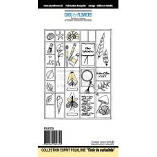 Stamps by Chou & Flowers - Le tiroir de curiosités (curiosity drawer)