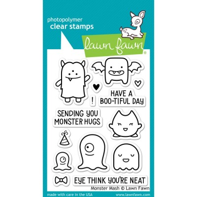 Monster Mash - clear stamps by Lawn Fawn