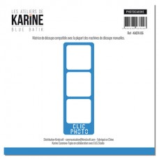 Die Photocabine - Atelier de Karine Blue Batik