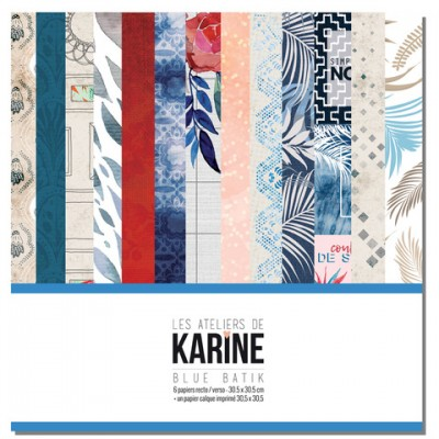 Collection Blue Batik: Ateliers de Karine